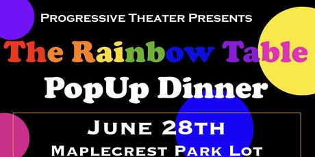 The Rainbow Table: PopUp Dinner tickets
