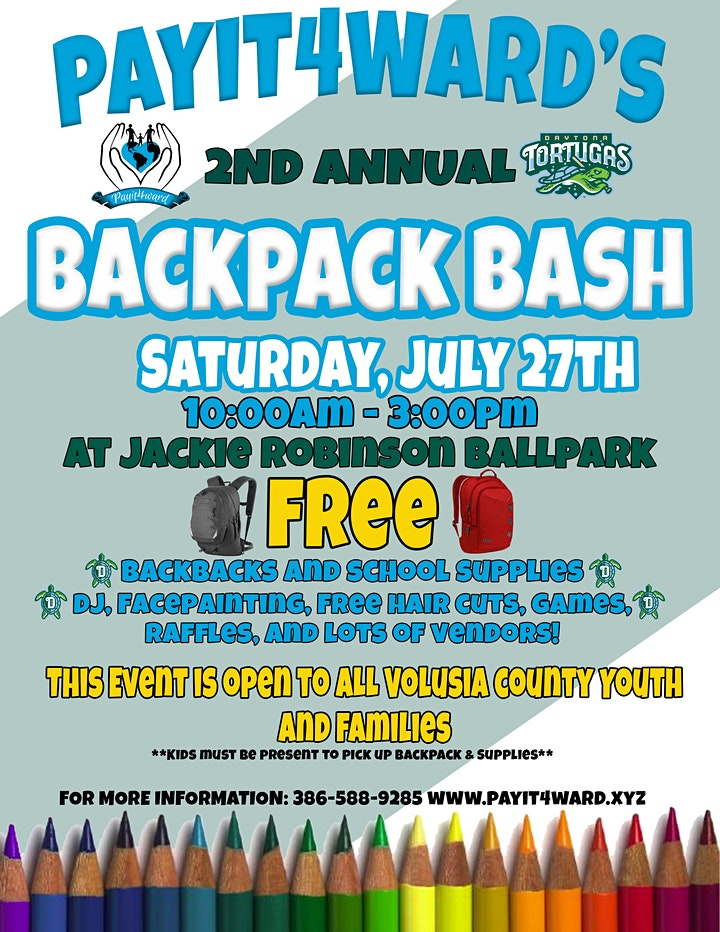 2nd Annual Back to School Backpack Bash image