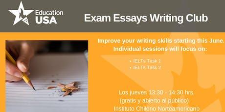 Writing Club Junio - Exam Essays  tickets