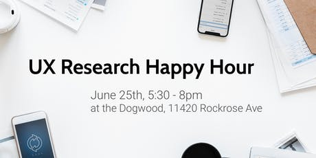 UX Research Happy Hour tickets
