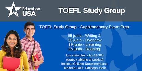 TOEFL Study Group Junio tickets