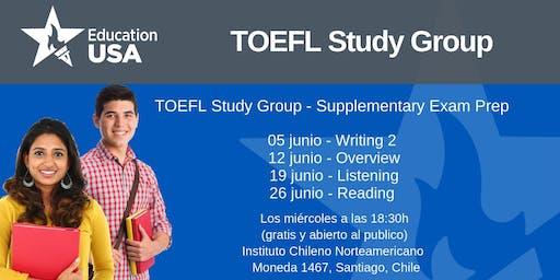 TOEFL Study Group Junio