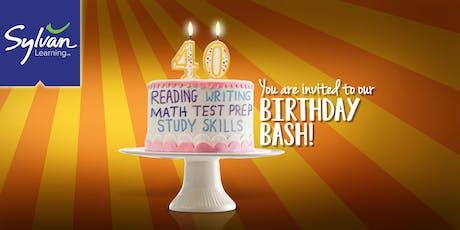 Sylvan's 40th Birthday Bash tickets