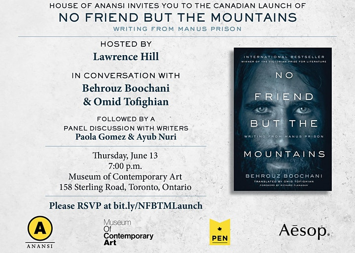No Friend but the Mountains Book Launch at the Museum of Contemporary Art image