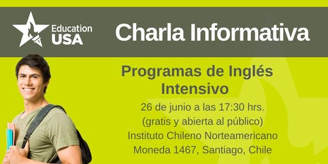 Charla de Inglés Intensivo Junio 2019 entradas
