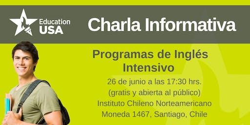 Charla de Inglés Intensivo Junio 2019