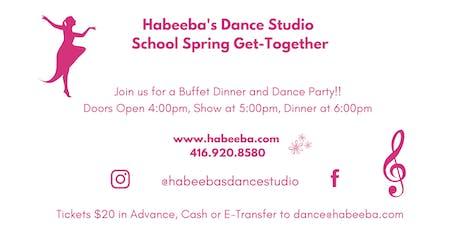 Habeeba's Dance Studio School Spring Get-Together tickets