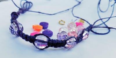 Macrame Bracelet 101 - Hosted by Young Entrepreneur Katia