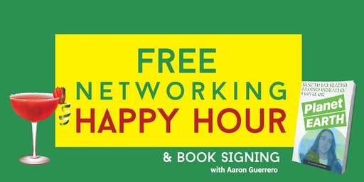 Networking Happy Hour & Book Signing with Aaron Guerrero at FUSA