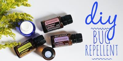 Bug Repellent Using Essential Oils