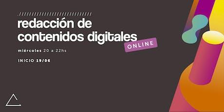 Redacción de contenidos digitales (Online) entradas