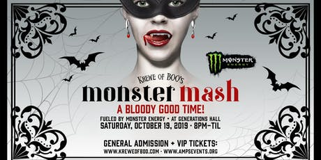 Krewe of Boo! presents MONSTER MASH (Official Parade After-Party) tickets