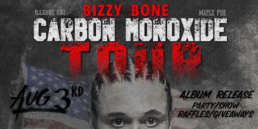 Bizzy Bone - Carbon Monoxide Tour