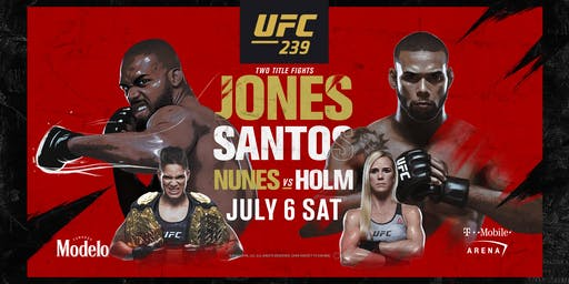 UFC 239: Jones vs. Santos at Red Bar and Lounge