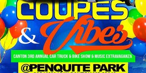 COUPES & VIBES: 3RD ANNUAL  CAR, TRUCK, BIKE SHOW &...