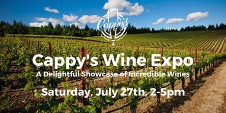 Cappy's Wine Expo tickets