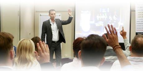 Mit Ihren wahren Talenten & Fähigkeiten selbständig, Basis-Training in ZH Tickets