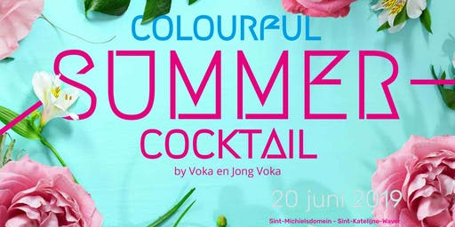 Colourful Summer Cocktail by Jong Voka Mechelen