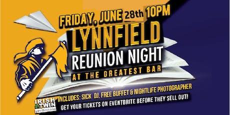 Lynnfield Reunion Night tickets