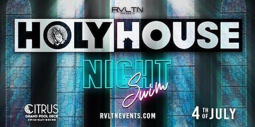 HOLY HOUSE — Nightswim (18+)