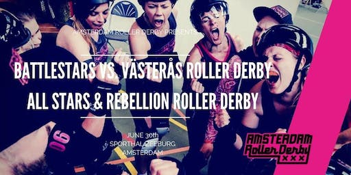 Amsterdam Roller Derby :: Sunday 30 June 2019