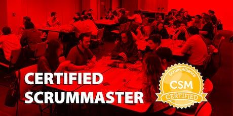 Certified ScrumMaster - CSM® + Scrum Práctico + Coaching Ágil + Cultura (Madrid, 09 y 10 de septiembre) tickets