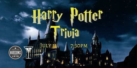 Harry Potter Trivia - July 11, 7:30pm - Hudsons Red Deer tickets
