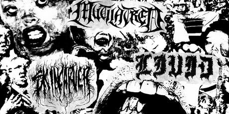 Mutilatred, Skincarver, Livid, All You Know is Hell at Kingsland tickets