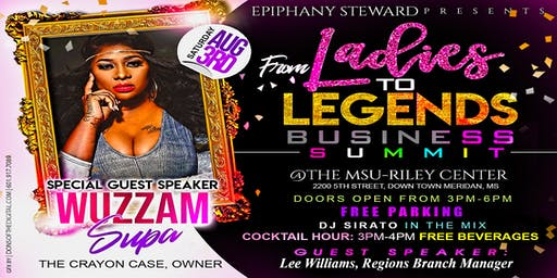 From Ladies to Legends Business Summit!