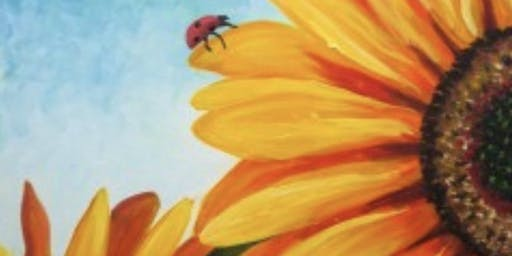 Sunflowers: June Edition of Gypsy Paint Events