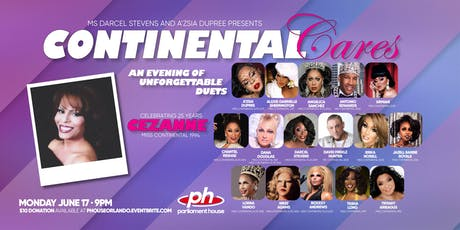 Continental Cares: An Evening of Unforgettable Duets tickets