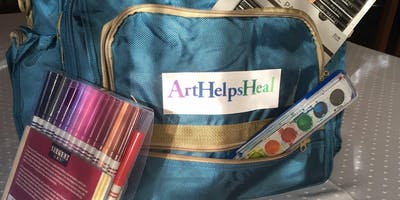 SAVE the DATE - 3rd Annual Art Helps Heal Fundraiser