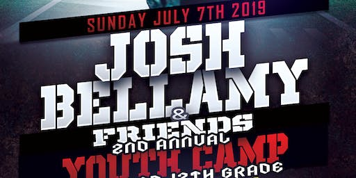 Josh Bellamy 2nd Annual Football Camp
