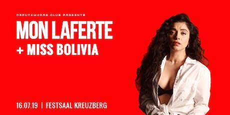 Mon Laferte & Miss Bolvia  Tickets