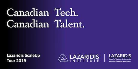 Lazaridis ScaleUp Tour 2019 Montreal tickets