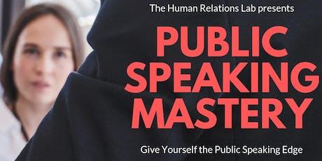 Public Speaking Mastery - Mississauga tickets