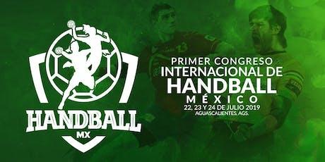 HBMX - Congreso Internacional de Handball Mexico entradas