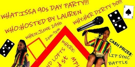 90s DAY PARTY! tickets