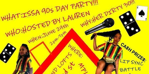 90s DAY PARTY!