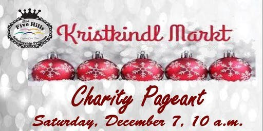 Krist Kindl Charity Pageant--REGISTRATION FEE