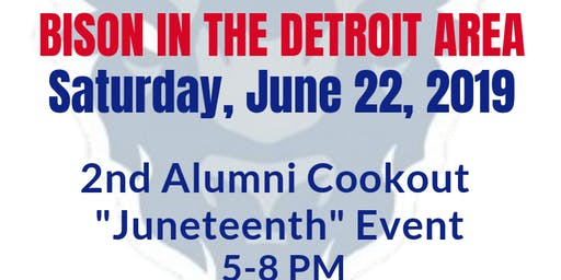 "HUAA DETROIT - 2nd Alumni Cookout ""Juneteenth"" Event"