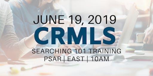 CRMLS: Searching 101 Training