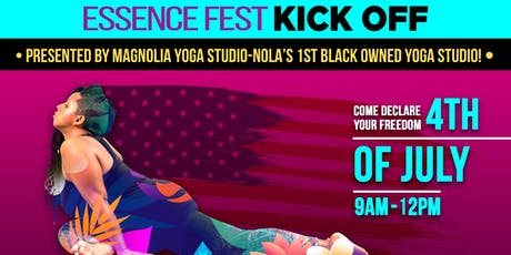 ESSENCE Fest Kick OFF! D.E.C.L.A.R.A.T.I.O.N of YOU--An Afro Beat Yoga Experience tickets