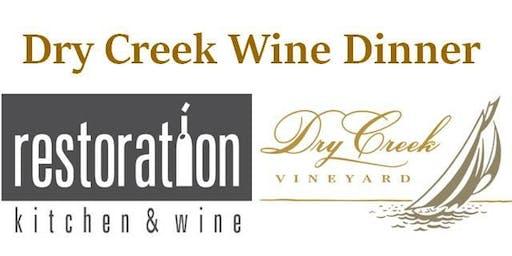 Dry Creek Wine Dinner