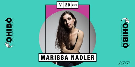 Marissa Nadler in concerto all'Ohibò
