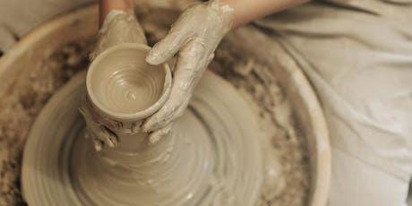 Pottery wheel - Adult & Children's Workshop. tickets