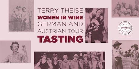 Women in Wine: German and Austrian Tasting tickets