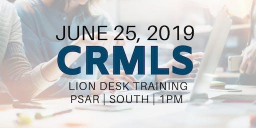 CRMLS: Lion Desk Training