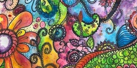 Abstract Doodles Art Class