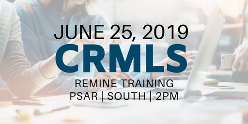 CRMLS: Remine Training